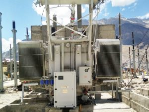 Transformer oil moisture removal system at PGCIL-Khalsi, Ladakh