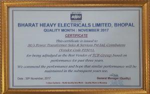 BHEL Certificate