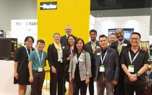 PowerGen, Malaysia Exhibition with Parker Velcon Team