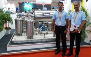 Turbine Lubrication Oil Coalescing System presented in Exhibition